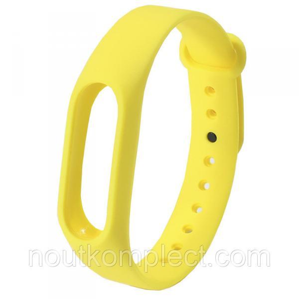 Ремешок Uwatch M2 для браслета Xiaomi Mi Band 2 Yellow (2248-6730)