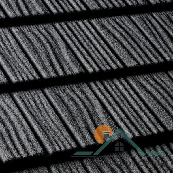 Фото Композитная черепица, Композитная черепица Queentile, Shake Композитная черепица Shake цвет (black)