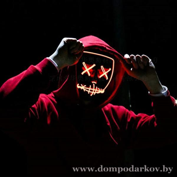 Фото ПОСМОТРЕТЬ ВЕСЬ КАТАЛОГ, Хиты продаж / Топ, Разное Хит Неоновая Led маска