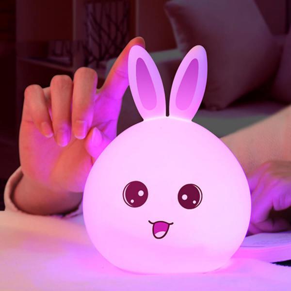 """Силиконовый светильник-ночник """"Зайчик"""""""