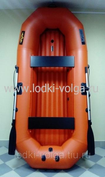 Лодка Муссон H 300 НД, оранжевая