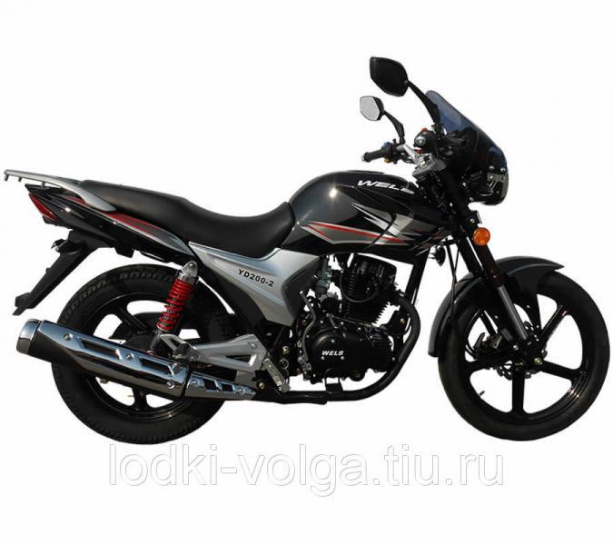 Мотоцикл Wels Gold Classic 200cc