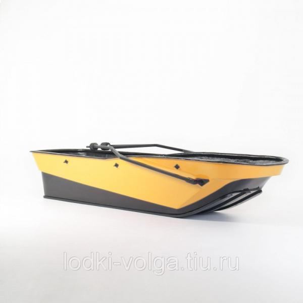 САНИ-ВОЛОКУШИ KTZ ACTIVE БЕЗ КРЫШКИ (цвет: желтый)