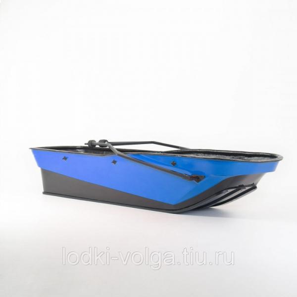 САНИ-ВОЛОКУШИ KTZ ACTIVE С ЖЕСТКОЙ КРЫШКОЙ (цвет: синий)