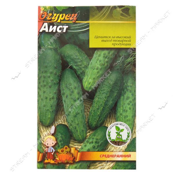 Семена огурец евро пакет 'Аист' 1гр (кратно 20 шт)