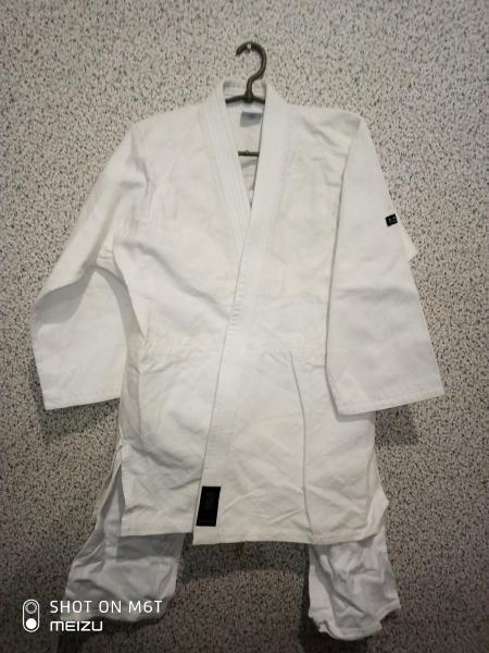 Кимоно для единоборств плетенка 140-150