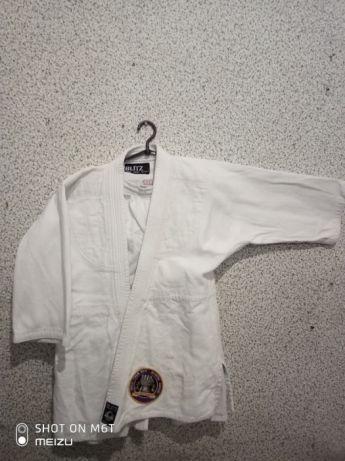 Детское кимоно для дзюдо джиу джитсу 140-150