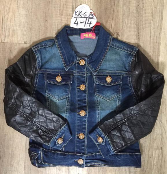 Супер цена! Джинсовый пиджак для девочки от 4 до 14 лет