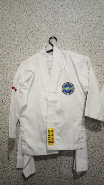 Кимоно для единоборств 110-120 добок ITF