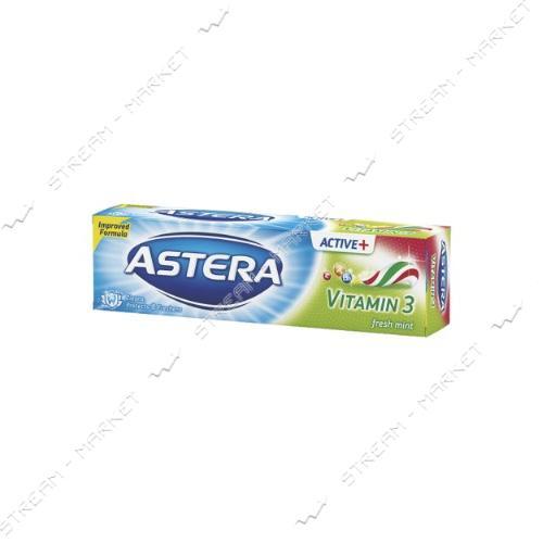 Зубная паста Astera Vitamin С витаминами 100мл