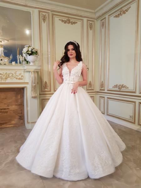 Свадебное платье трубы Кекс