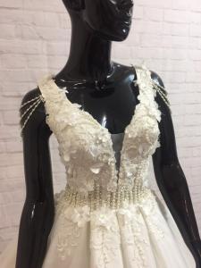 Фото Свадебные платья Свадебное платье трубы Кекс