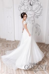 Фото Свадебные платья Легкое свадебное платье с открытой спиной бохо Есения