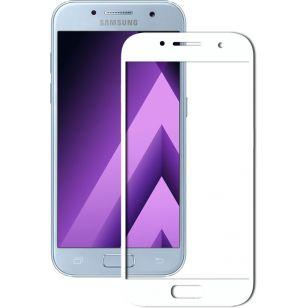 Защитное стекло 3D Samsung A7 2017 (A720) White (Код товара:3424)
