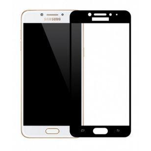Защитное стекло Samsung C5/C5000 Black (Код товара:3456)