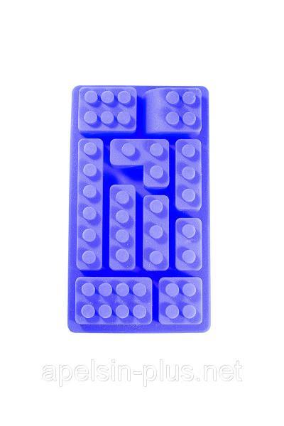 """Силиконовая форма для конфет и льда """"Конструктор Лего"""" малый"""