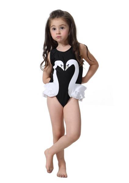 Черный купальник для девочки Momasong 609220 N 110 Черный Momasong 609220 N