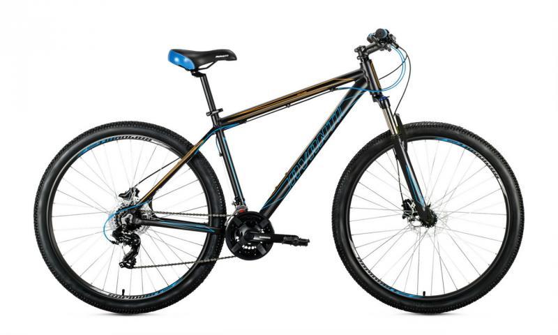 Велосипед Avanti-2019 Skyline чорно/синьо/помаранч