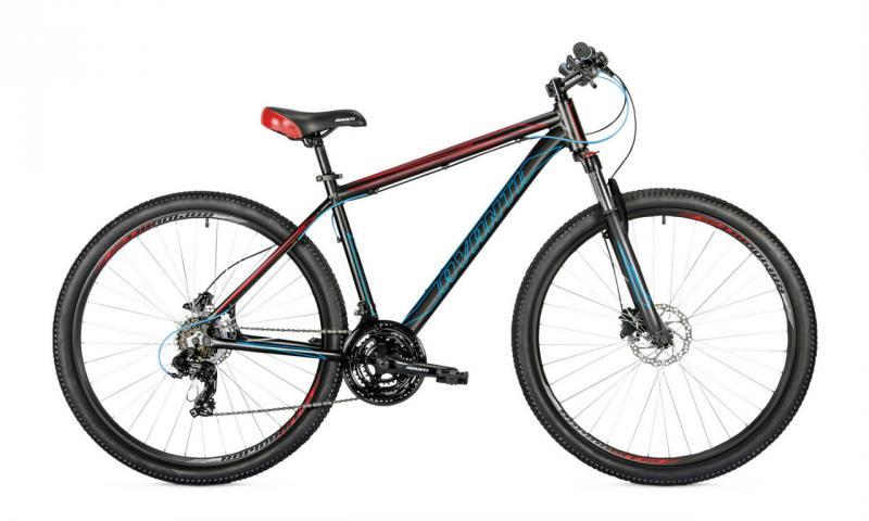 Велосипед Avanti-2019 Vector чорно/синьо/червоний