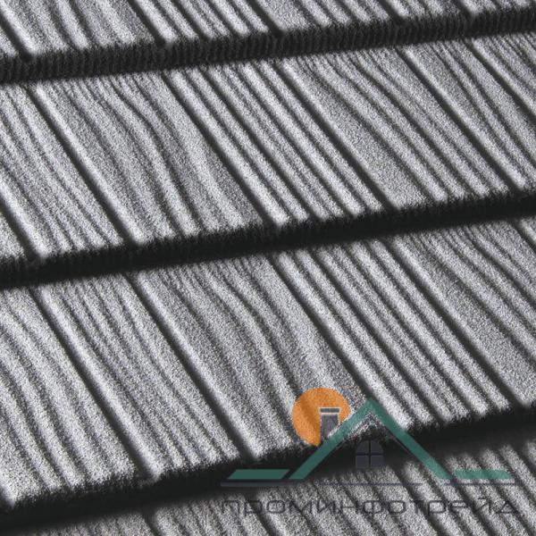 Фото Композитная черепица, Композитная черепица Queentile, Shake Композитная черепица Shake цвет (grey)