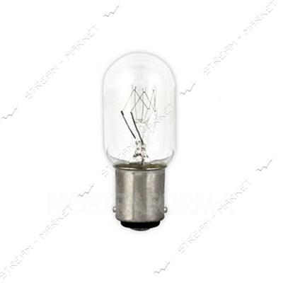 LEMANSO Лампа накаливания Т26 15Вт B15D для швейной машинки (кратно 10шт)