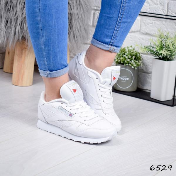 Кроссовки женские в стиле R белые