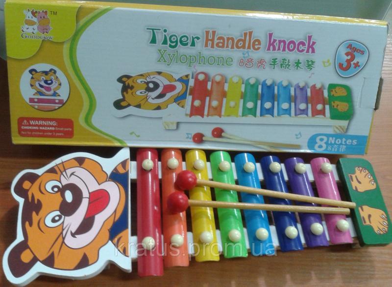 Фото Развивающие игрушки, Для маленьких и самых маленьких B 312 Деревянный ксилофон