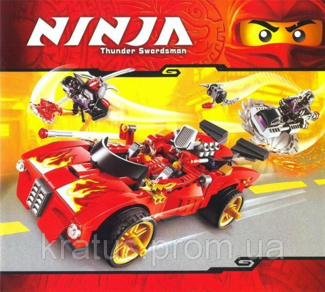 "9796 Конструктор Bela Ninja (аналог Lego Ninjago) ""Машина ниндзя-перехватчик Х-1"", 425 дет."
