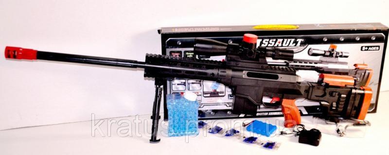47-6 Винтовка  акумулятор, автозаряжание, гелевые (водяные) пули.