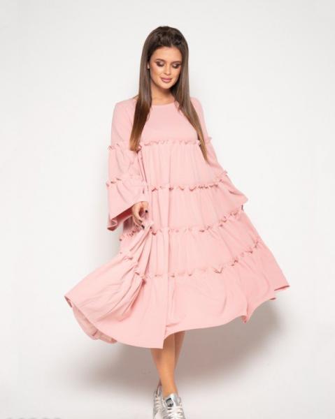 Фото  Платья ISSA PLUS 10389  XL розовый