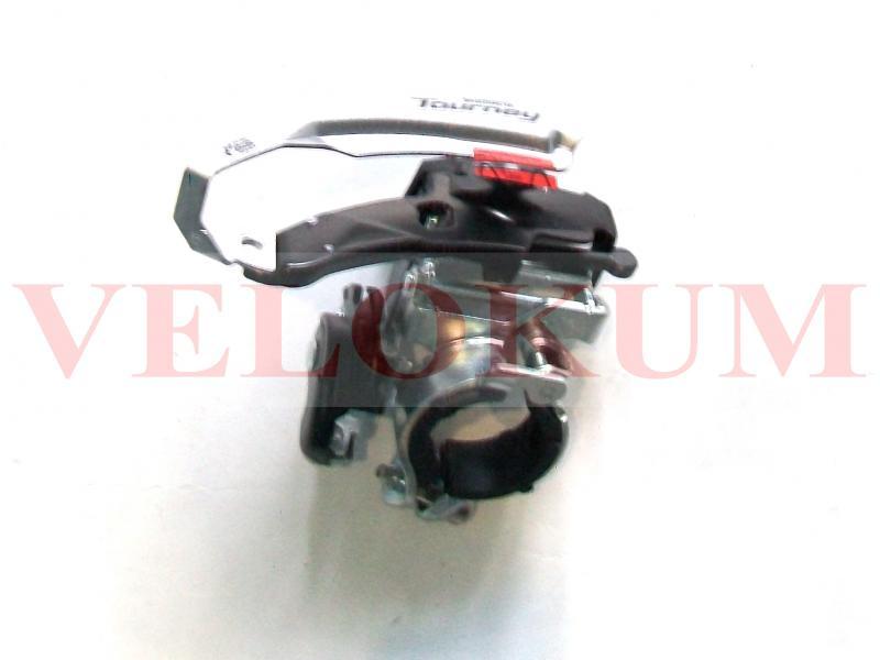 Фото ТРАНСМІСІЯ, Перекидки задні, передні, передні перекидки швидкостей Перекидка ланцюга передня Shimano FD-TY510 TOURNEY