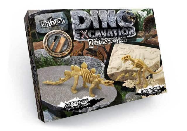 Раскопки динозавров DINO EXCAVATION Danko Toys DEX-01-03