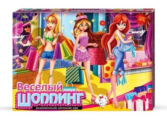 Настольная игра Веселый шопинг Danko Toys