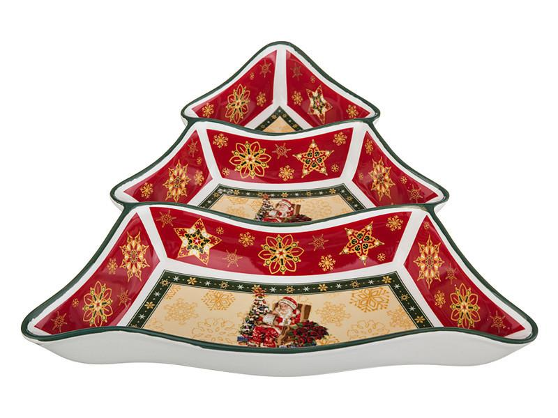 "Менажница ""Christmas collection"" 24*24*5 см, Lefard, 986-001"