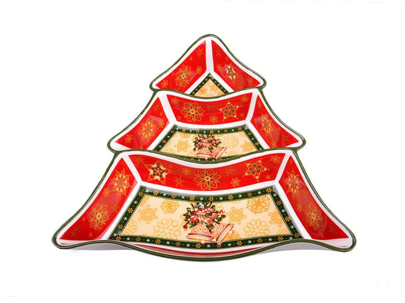 "Менажница ""Christmas collection"" 24*24*5 см, Lefard, 986-003"