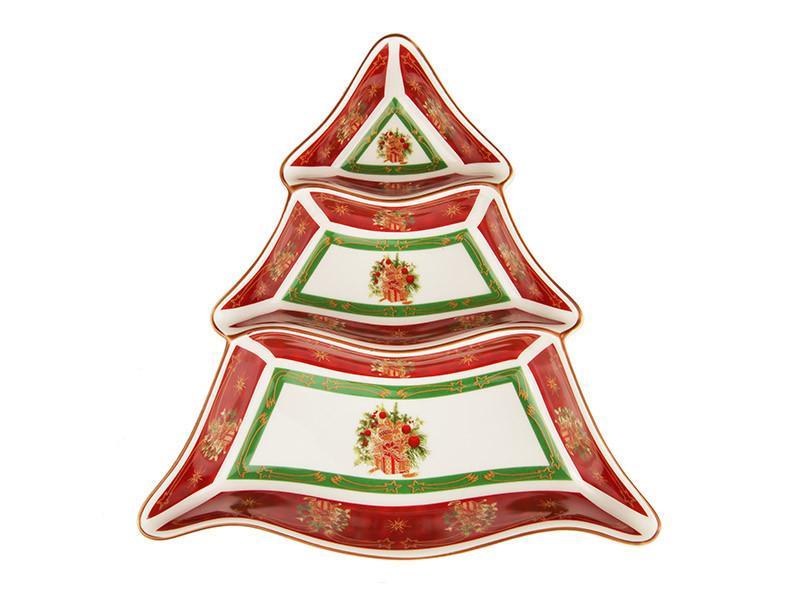 "Менажница ""Christmas collection"" 24*24 см, Lefard, 986-040"