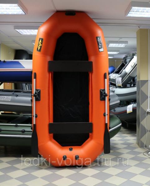 Лодка Муссон H 300 оранжевая