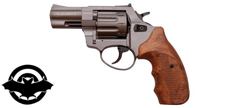 "Револьвер флобера STALKER 2,5"" Titanium, 150 м/с, рукоятка - пластик"