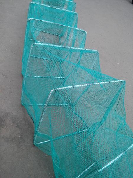 """Раколовка """"Гармошка"""" длинной 3 метра металлический каркас"""