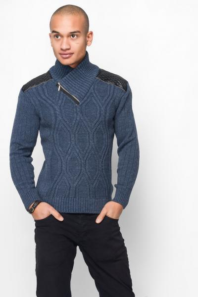 Мужской свитер TAIKO (26954-2) джинс
