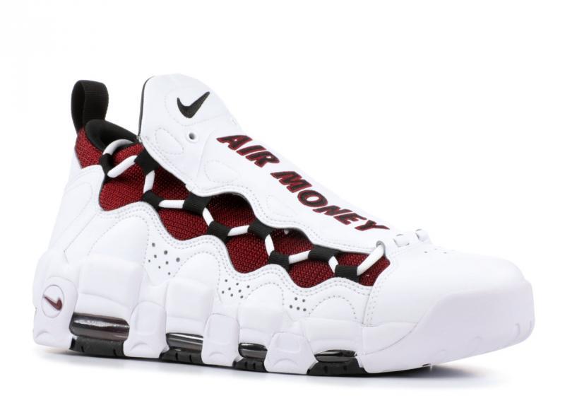 Фото Мужские кроссовки, Nike Мужские кроссовки Nike Air More Money (Найк) белые