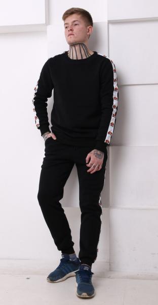 Мужской спортивный костюм Ellesse черный