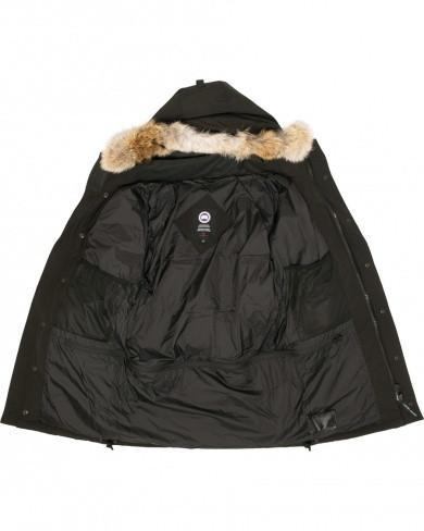 Фото Мужская одежда, Мужские куртки и парки Мужская зимняя парка Canada Goose Emory Parka черная +3°C (-30°С)
