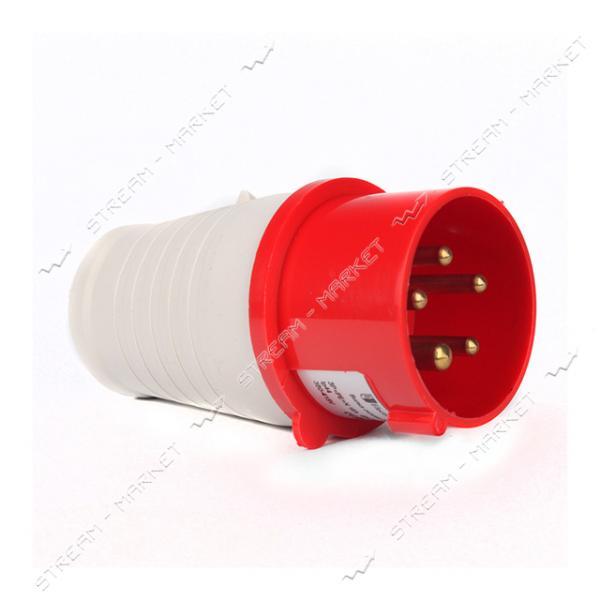 Вилка переносная Electro House EH-PPL-516 5 контактов 3Р plus PЕ plus N 16А 380-415В IP44