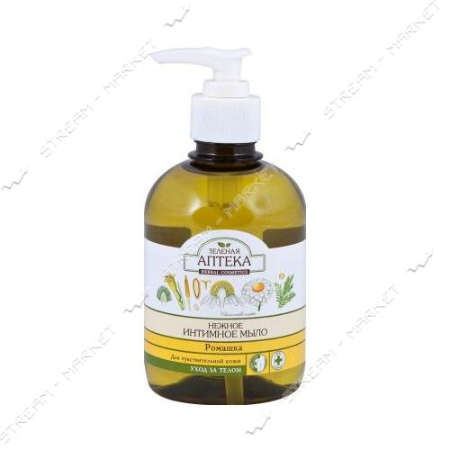 Жидкое интимное мыло Зеленая Аптека Ромашка 370мл