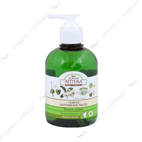 Жидкое интимное мыло Зеленая Аптека Чайное дерево 370мл
