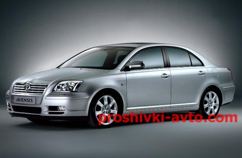 Фото TOYOTA чип тюнинг, AVENSIS прошивка двигателя (прошивка эбу) Toyota avensis 1.8 89663-05501 MOD_E2