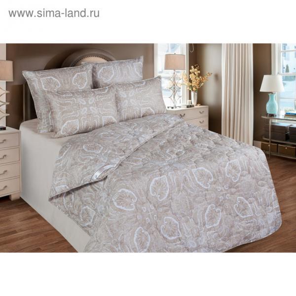 Одеяло обл. 220*205, ОВТ150-20, шерсть верблюда, ткань тик, п/э
