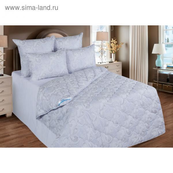 Одеяло станд. 220*205,ОЛТ300-20, иск. лебяжий пух,ткань тик, п/э