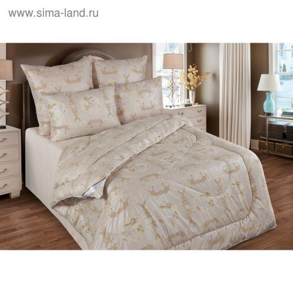 Одеяло станд. 220*205, ОВШ/300-20эк1, шерсть верблюда, ткань глосс-сатин,п/э